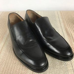 Cole Haan Black Leather Slip On 8.5W